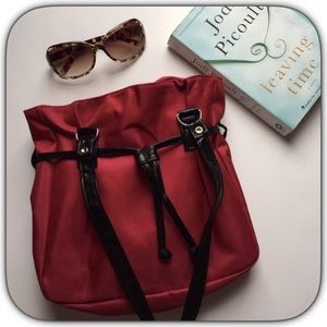 Boutique Handbags - NWT The Perfect Little Cranberry Red Tote Bag