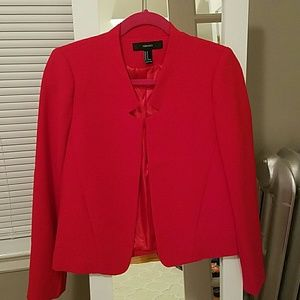 MORE RDUCED Excellent condition F21 red blazer