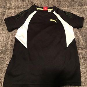 Boys Puma short sleeve shirt size 6