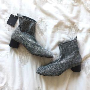 Zara Silver Boots *NEW*