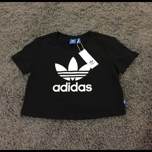 Adidas Tops - Adidas crop shirt
