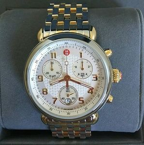 Michele Accessories - NWT Michele CSX two tone watch