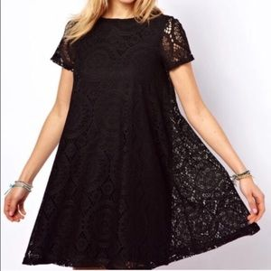 Dorimas Closet Dresses & Skirts - 🆕Cute black lace flow you dress ❤💋