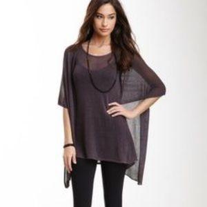 Miilla Clothing Dresses & Skirts - Miilla draped Henley dress medium