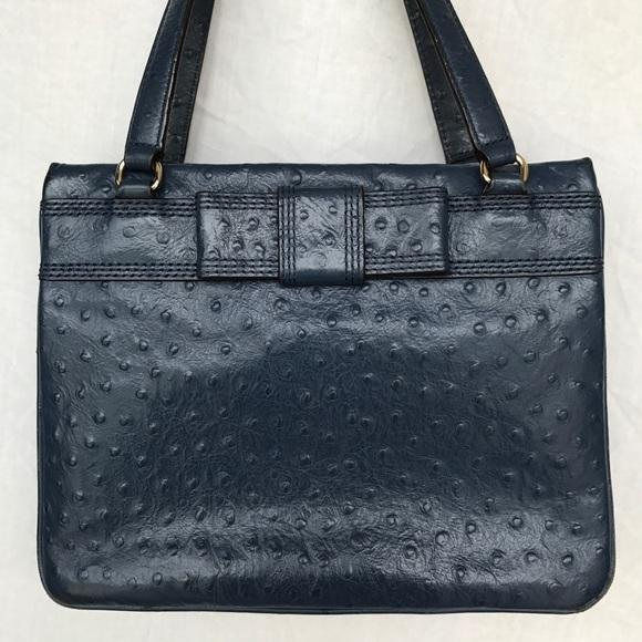 3019bc4639b7 kate spade Handbags - Kate Spade Ostrich Bow Blue Purse Handbag