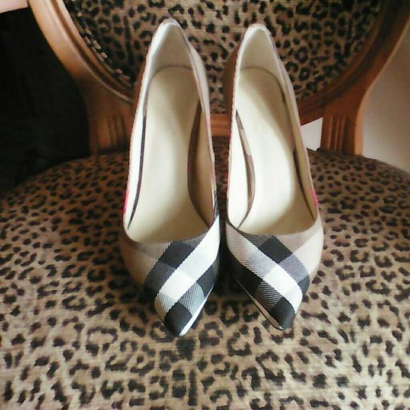 Super Sale Ferucci Burberry High Heel