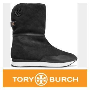Tory Burch Shoes - Tory Burch 'Balfour' Shearling Lined Suede Boots