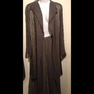 Komarov Dresses & Skirts - 2 piece silk and chiffon suit