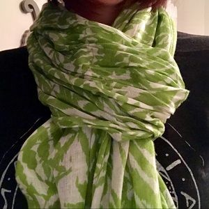 Palm Frond Scarf