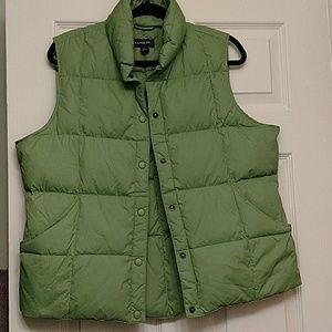 Lands' End Jackets & Blazers - Lands End goose down offer vest