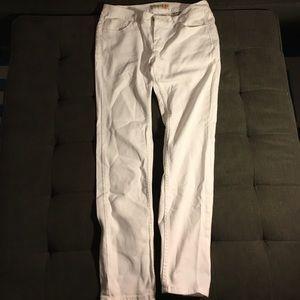 Paris Blues Denim - White straight leg jeans