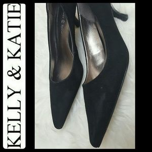Kelly & Katie Shoes - Kelly & Katie Suede Leather Pumps