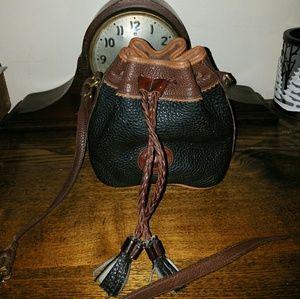 Dooney & Bourke Handbags - Vintage Dooney & Bourke teton mini drawstring