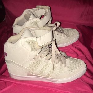 Adidas Shoes - Adidas  Heel Wedge Python Sneakers
