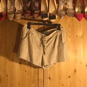 Soft Tan Shorts