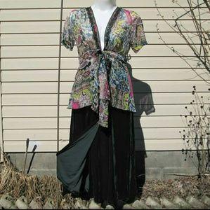 CAbi  Kimono Top