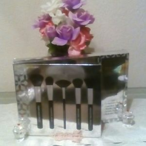 5 PC Luxury Cosmetic Brush Collection