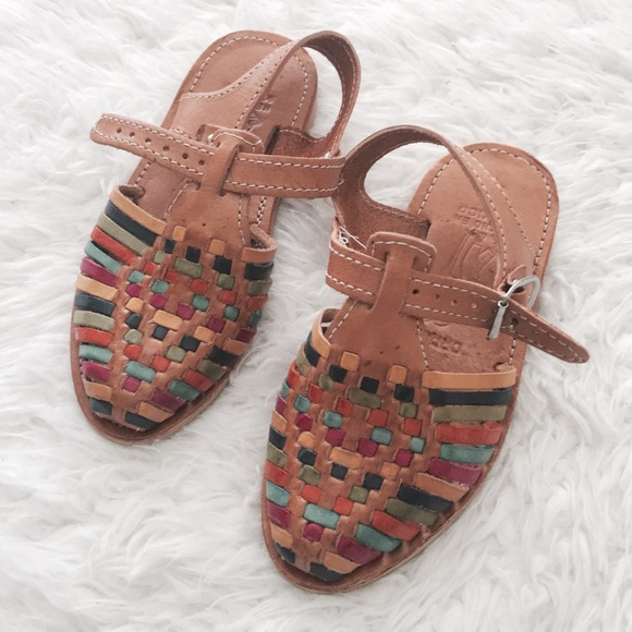 7f3b0a13352690 NWOT Kids Genuine Leather Mexican Huaraches. M 58a5129af0137dbcdd0295e5.  Other Shoes you may like. Toddler sandals