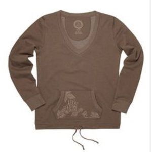Life is Good Tops - Life is Good Embroided Sweatshirt