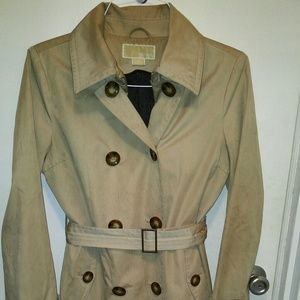 Michael Kors Beige Trench Coat (Size M)