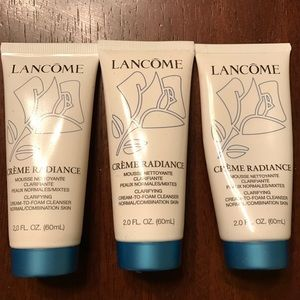 Lancome Other - Lancôme Creme Radiance cleansers