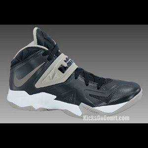 Nike Other - Nike Lebron James Soilder VII black and gray