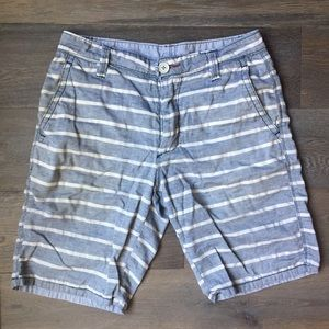 Howe Other - MENS HOWE Reversible Blue & White Striped Shorts