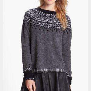 Joie Sweaters - Joie Deedra Fair Isle Sweater