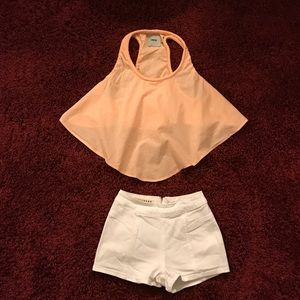 ASOS Tops - •PRICE IS FIRM•$95 RETAIL ASOS BULLHEAD 2pc OUTFIT