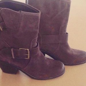 Dolce Vita Shoes - ❤SALE❤Suede leather boots w/buckles. Size 9 EUC
