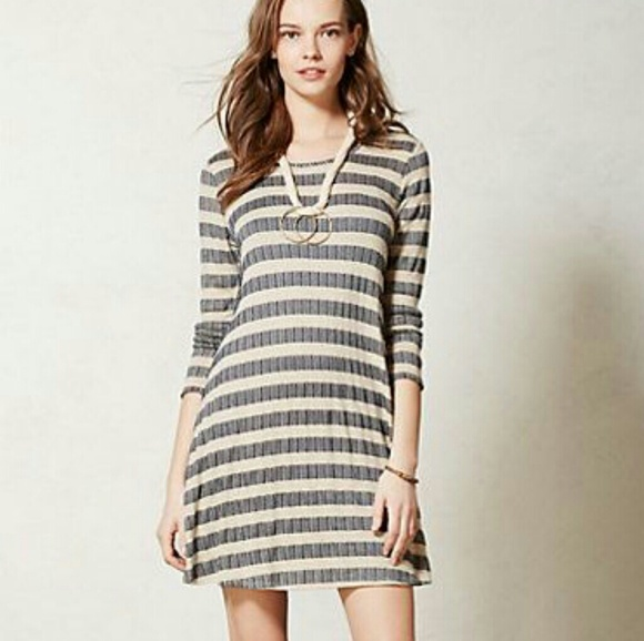 ca038de43eb47 Anthropologie Dresses & Skirts - Puella aline swing dress striped sweater  xxsp