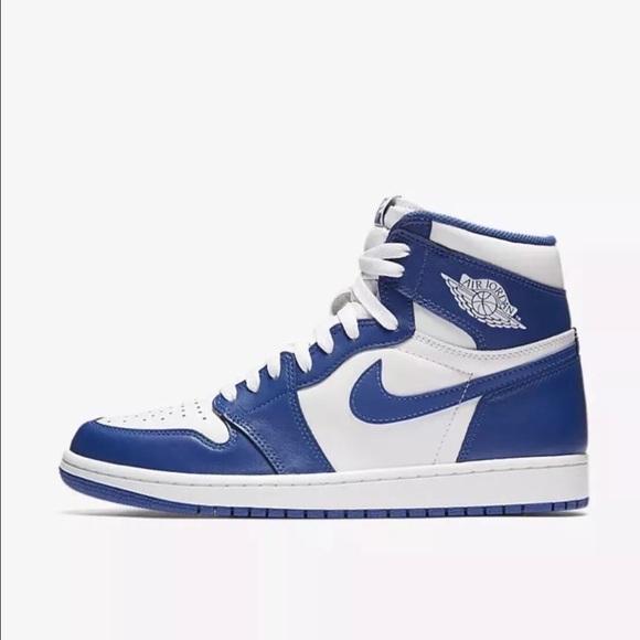 1851391f941bbd Air Jordan Retro 1 High OG (Storm Blue) Size 14
