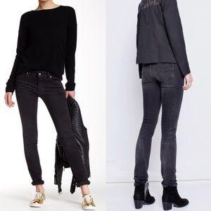 Zadig & Voltaire Denim - Zadig & Voltaire Jeans EVA ANTHRA Skinny Black 26