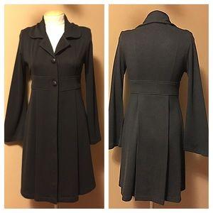 Olian Jackets & Blazers - Black button front light jacket by Olian