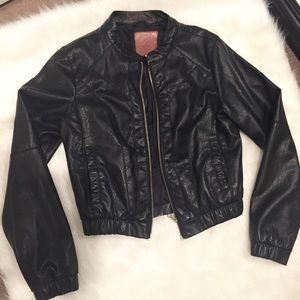 U.S. Polo Assn. Jackets & Blazers - Beverly Hills Polo Club Faux Leather Jacket