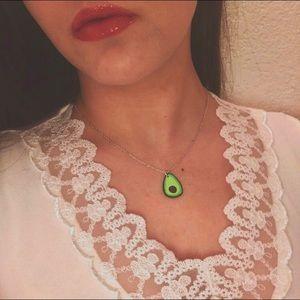 Avocado urban boho pendant fruit necklace charm