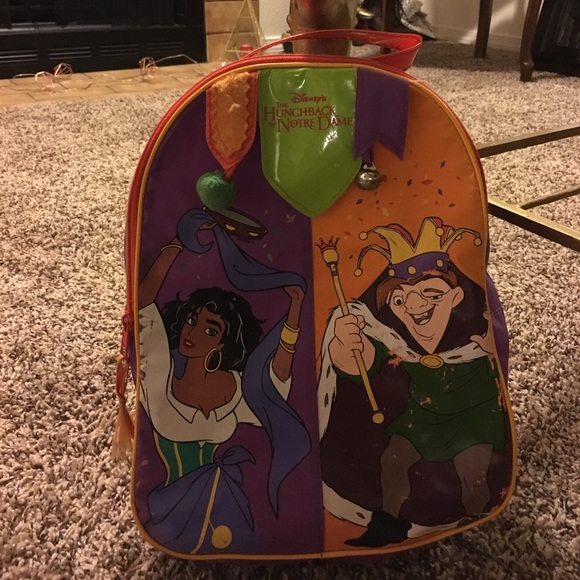 aa1698f2c3 90s hunchback of notredame disney mini backpack.  M 58a521ee7fab3a198d030180. Other Bags ...