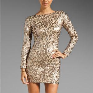dress the population Dresses & Skirts - Dress The Population Sequin Sparkle Dress