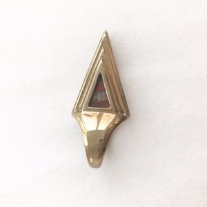 Pamela Love Jewelry - Pamela Love Red Agate Pyramid Ring