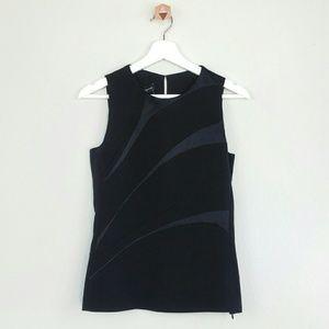 Narciso Rodriguez Tops - NARCISO RODRIGUEZ sleeveless silk top