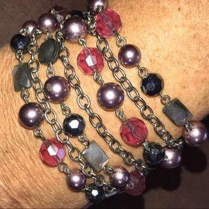 🆕Lia Sophia purple strand bracelet