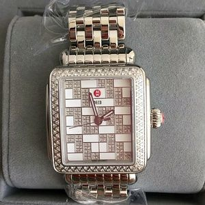 Michele  Accessories - NWT Michele Deco diamond mosaic Women's watch