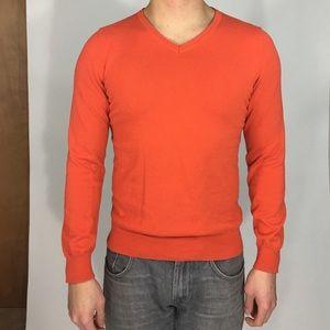 H&M Other - H&M - Orange V Neck Sweater