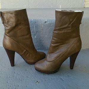 Colin Stuart Shoes - FOLDOVER BOOTIE - COLIN STUART - VICTORIA'S SECRET