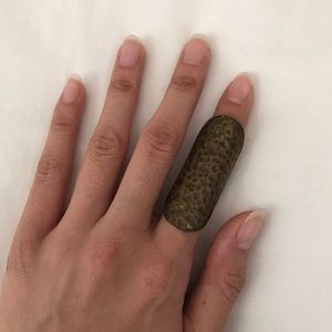 Jewelry - Hammered Statement Ring