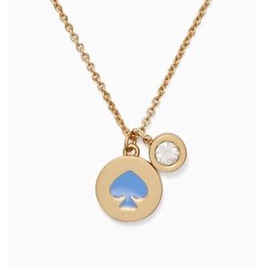 kate spade Jewelry - Kate Spade Spot The Spade Necklace