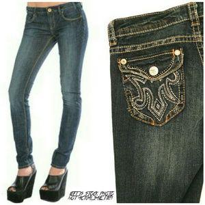 MEK Denim - MEK Denim Astoria Cigarette/Skinny Jeans