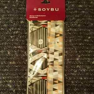 Soybu Accessories - NWT! Soybu Pair of Headbands for exercise, yoga