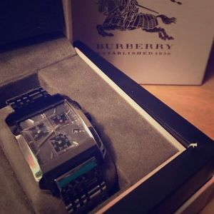 Burberry Accessories - Burberry watch!!