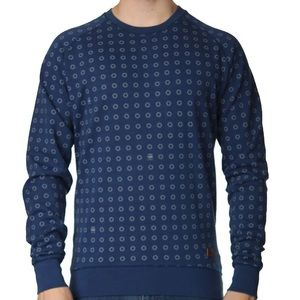 G-Star Other - Men's Blue G-STAR RAW Crewneck Sweater
